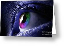 Colorful Eye Greeting Card
