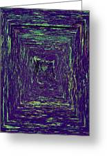 Coloristic Abstracts From Varikallio At Hossa Greeting Card