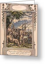 Columbus: Native Americans Greeting Card