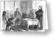 Continental Congress, 1774 Greeting Card