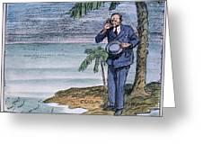 Coolidge: Nicaragua, 1928 Greeting Card