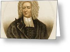 Cotton Mather, American Minister Greeting Card