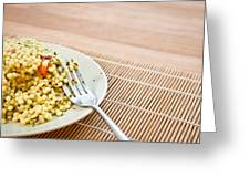 Cous Cous Salad Greeting Card
