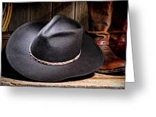 Cowboy Hat Greeting Card