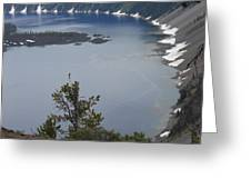 Craterlake Greeting Card by Phillip Bittman