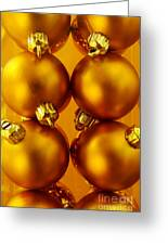 Crhistmas Decorations Greeting Card by Carlos Caetano