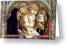 Crivelli: Pieta Greeting Card