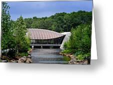 Crystal Bridges Museum Greeting Card