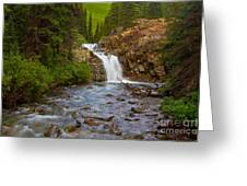 Crystal River Waterfall Greeting Card
