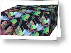 Cube Greeting Card