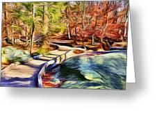 Cunningham Falls Walkway Greeting Card