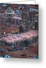 Cusco Greeting Card