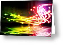 Dancing Lights Greeting Card