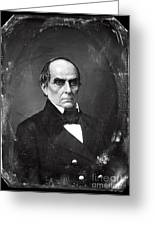 Daniel Webster Greeting Card by Photo Researchers