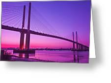 Dartford Bridge Greeting Card
