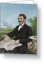 David Livingstone, Scottish Explorer Greeting Card