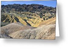 Death Valley Morning Greeting Card