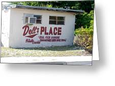 Dell's Place Greeting Card