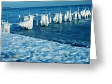 Denmark Winter 2009 Greeting Card