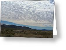 Desert Clouds Greeting Card