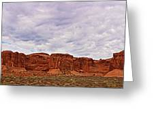Desert Walls Greeting Card