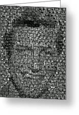 Dick Van Dyke Mosaic Greeting Card