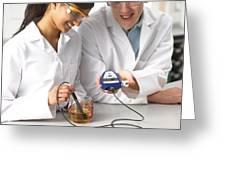 Digital Ph Measurement Greeting Card