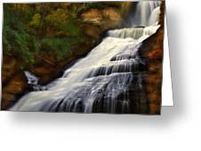 Dingmans Falls Greeting Card