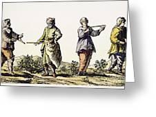 Divining Rod, 17th Century Greeting Card