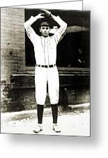 Dizzy Dean (1911-1974) Greeting Card