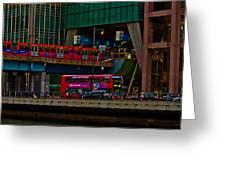 Docklands London Greeting Card