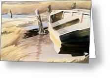 Docs Old Rowboat Greeting Card