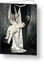 Doll Greeting Card by Joana Kruse