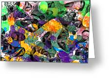 Dont Fall On The Road 3d Abstract I Greeting Card
