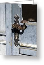 Doorknob Greeting Card
