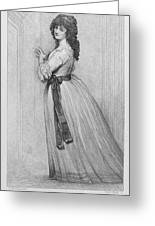 Dorothy Bland Jordan Greeting Card by Granger