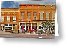 Downtown Perrysburg Greeting Card