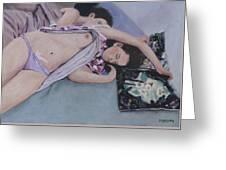 Dreaming Greeting Card by Masami Iida