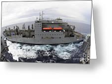 Dry Cargo And Ammunition Ship Usns Greeting Card