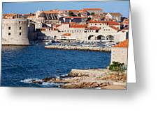 Dubrovnik Old City Architecture Greeting Card