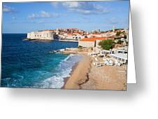 Dubrovnik Scenery Greeting Card