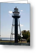 Duluth Mn Lighthouse Greeting Card