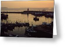 Dunmore East, Co Waterford, Ireland Greeting Card