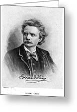 Edvard Grieg (1843-1907) Greeting Card