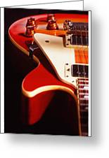 Electric Guitar I Greeting Card