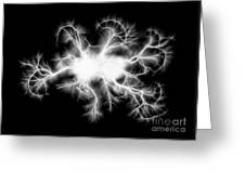 Electric Spark Greeting Card
