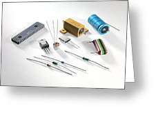Electronic Components Greeting Card