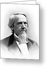 Elias Loomis, American Mathematician Greeting Card by Science Source