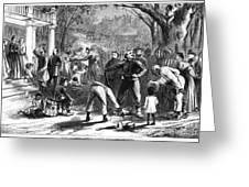 Emancipation, 1863 Greeting Card
