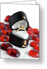 Engagement Ring Greeting Card by Carlos Caetano